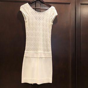 IISLI Romantic T Dress in Ivory